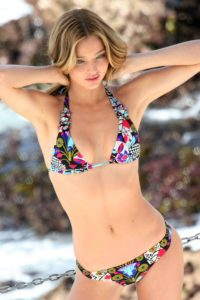Miranda Kerr Hot Flower Bikini 200x300 - Miranda Kerr Super Top Model Photo