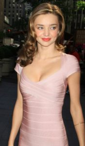 Miranda Kerr Nice Pink Dress Image 175x300 - Miranda Kerr Super Top Model Photo