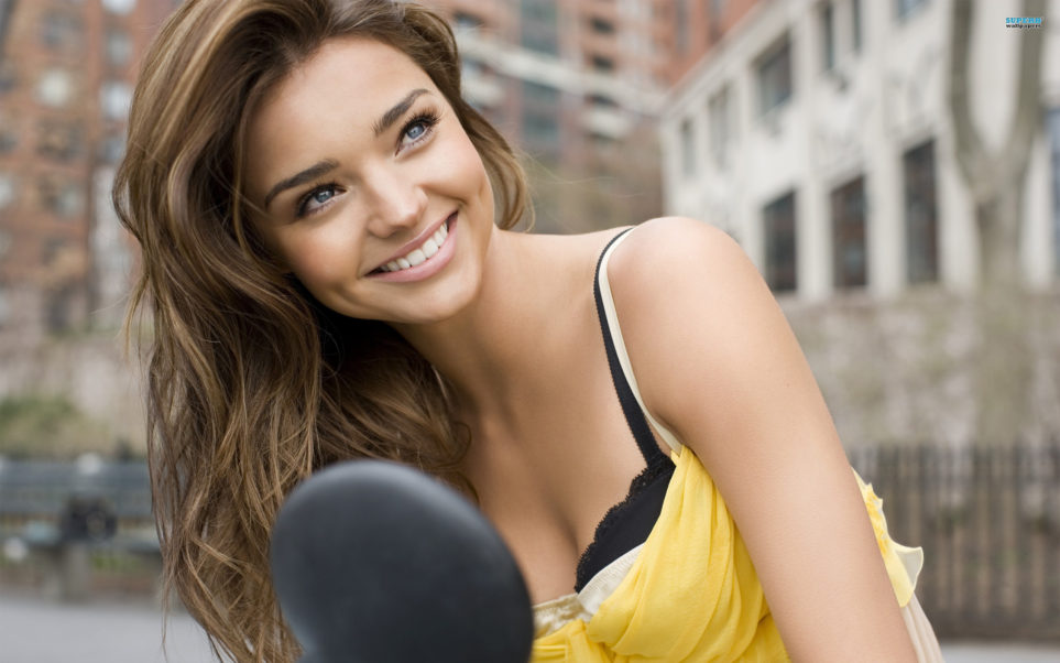 Miranda Kerr Perfect Smile