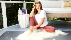 Miranda Kerr Poses On Her Balcony 300x169 - Miranda Kerr Super Top Model Photo