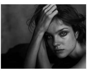 Natalia Vodianova Black White Face Pose 300x250 - Natalia Vodianova Stunning Eyes