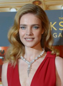 Natalia Vodianova Hot Red Revealing Dress 220x300 - Natalia Vodianova Stunning Eyes