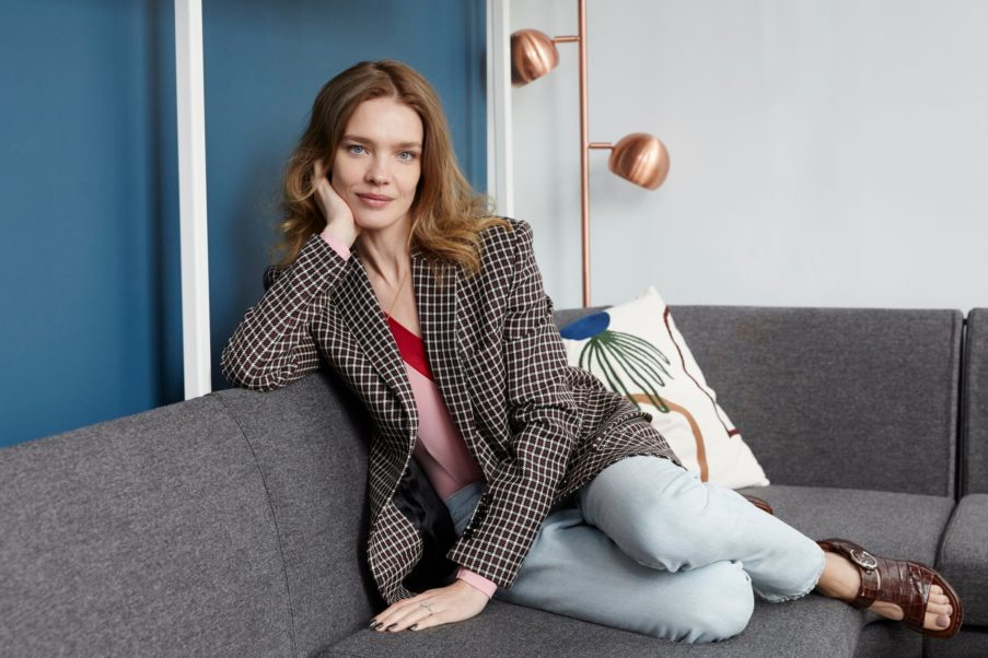 Natalia Vodianova Simple Pose