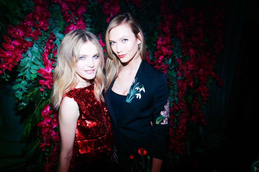 Natalia Vodianova With An Other Model
