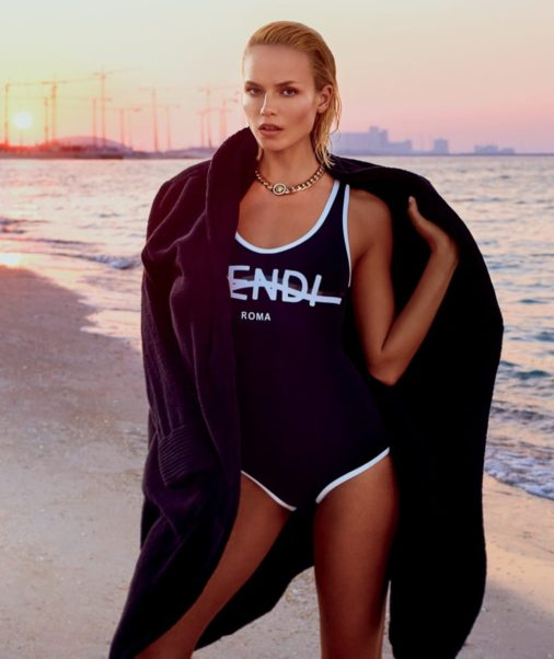 Natasha Poly Hot Swimwear Model