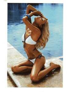Natasha Poly Hot White Bikini Posing 219x300 - Natasha Poly Goddess Beauty