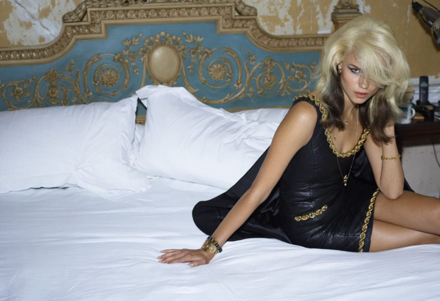 Natasha Poly Top Modeling On The Bed