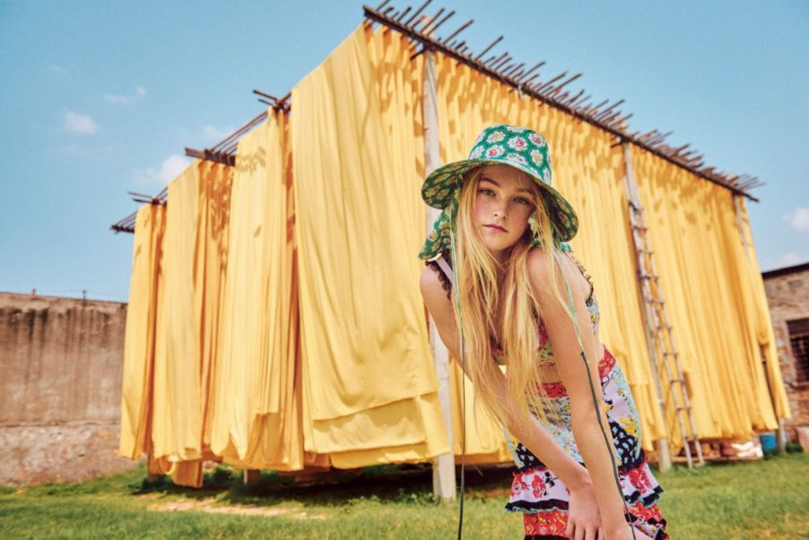 Outdoors Modeling Jean Campbell