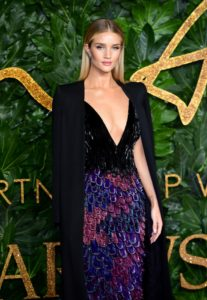 Rosie Huntington Whiteley Deep Revealing 207x300 - Rosie Huntington Whiteley Film Gala Pics