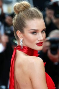 Rosie Huntington Whiteley Hot Red Lips 200x300 - Rosie Huntington Whiteley Hot Underwear Pic