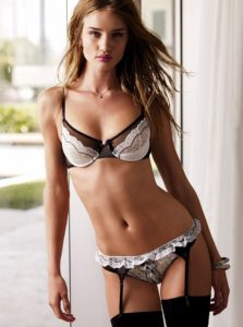 Rosie Huntington Whiteley Hot Underwear Pic 223x300 - Rosie Huntington Whiteley Hot Red Lips