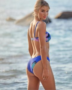 Rosie Huntington Whiteley Hoy Bikini 240x300 - Rosie Huntington Whiteley Hot Pose In The Pool
