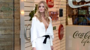 Rosie Huntington Whiteley Outdoors 300x169 - Rosie Huntington Whiteley Film Gala Pics
