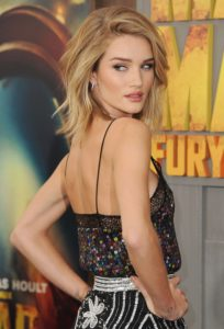 Rosie Huntington Whiteley Posing Pic 204x300 - Rosie Huntington Whiteley Revaling Red Dress