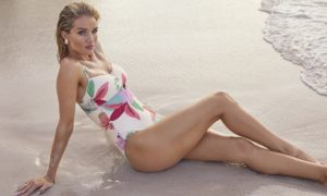 Rosie Huntington Whiteley Swimwear On Sands 300x180 - Rosie Huntington Whiteley Revaling Red Dress