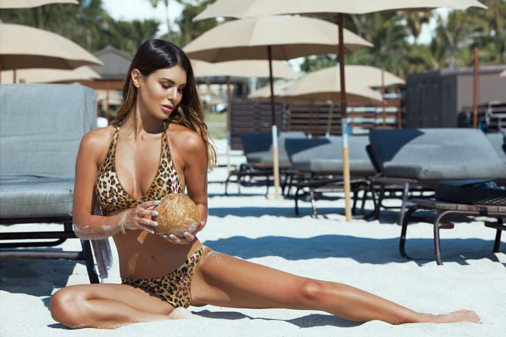 Silvia Caruso Tigerskin Bikini 1024x683 - Silvia Caruso Net Worth, Pics, Wallpapers, Career and Biography
