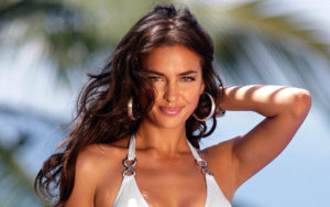Sweet Smile Irina Shayk 300x188 - Irina Shayk Hot Black Underwear Pic
