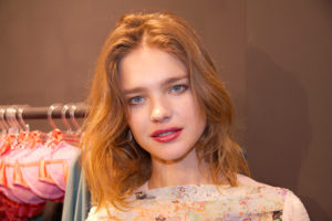 Wonderful Beauty Natalia Vodianova 300x200 - Super Top Model Natalia Vodianova Red Blouse