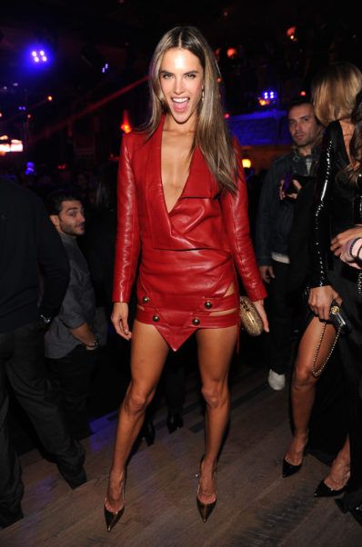Alessandra Ambrosio After Party Dress