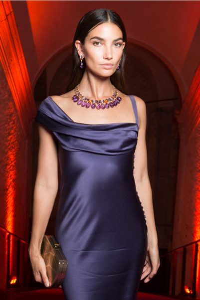 Amazing Dress Modeling Lily Aldridge
