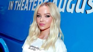 Beautiful Blonde Dove Cameron 300x168 - Dove Cameron Hot Red Lips