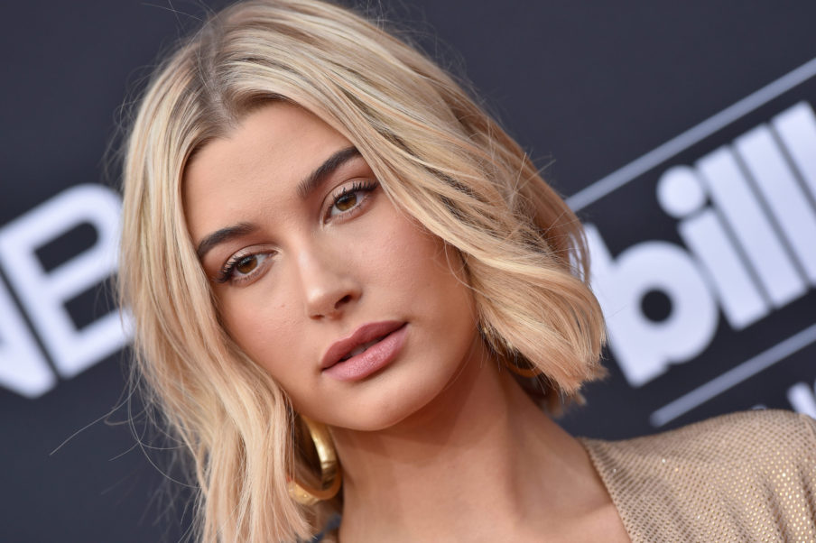 Blonde Model Hailey Baldwin