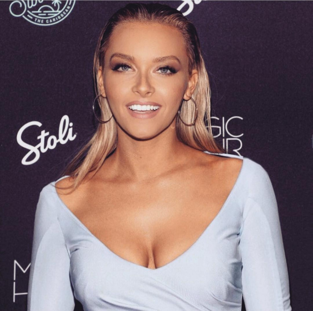 Camille Kostek Deep Revealing Dress Pics - Camille Kostek Deep Revealing Dress Pics