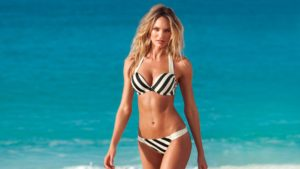 Candice Swanepoel 300x169 - Candice Swanepoel Nice Swimwear Outdoors