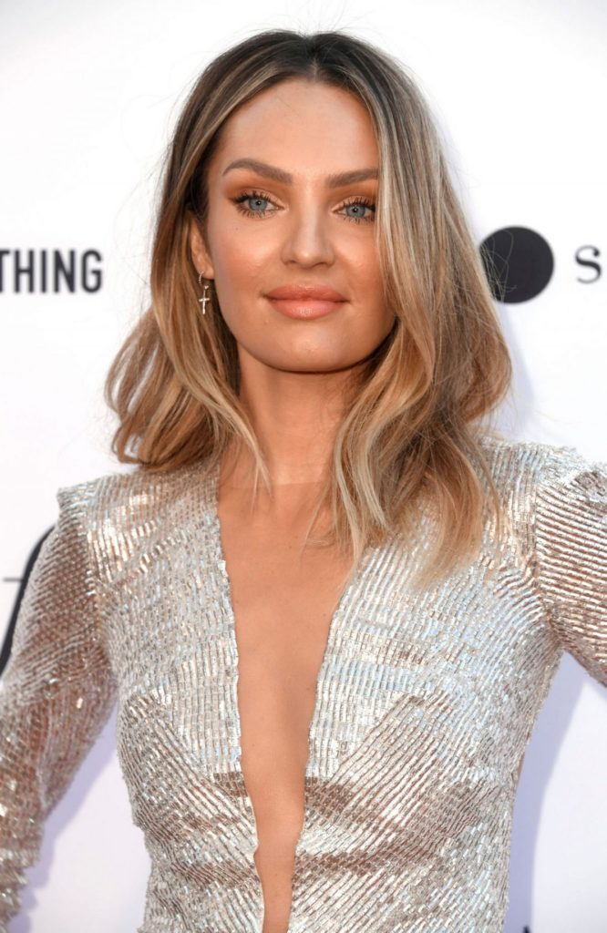 Candice Swanepoel Deep Revealing Dress 666x1024 - Candice Swanepoel Net Worth, Pics, Wallpapers, Career and Biography