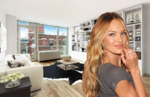 Candice Swanepoel In Her Livingroom 300x195 - Candice Swanepoel Nice Dress