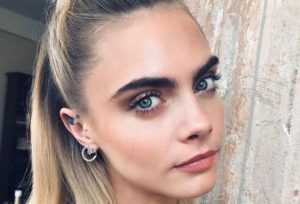 Cara Delevingne Awesome Eyes Pics 300x204 - Hot Top Model Cara Delevingne