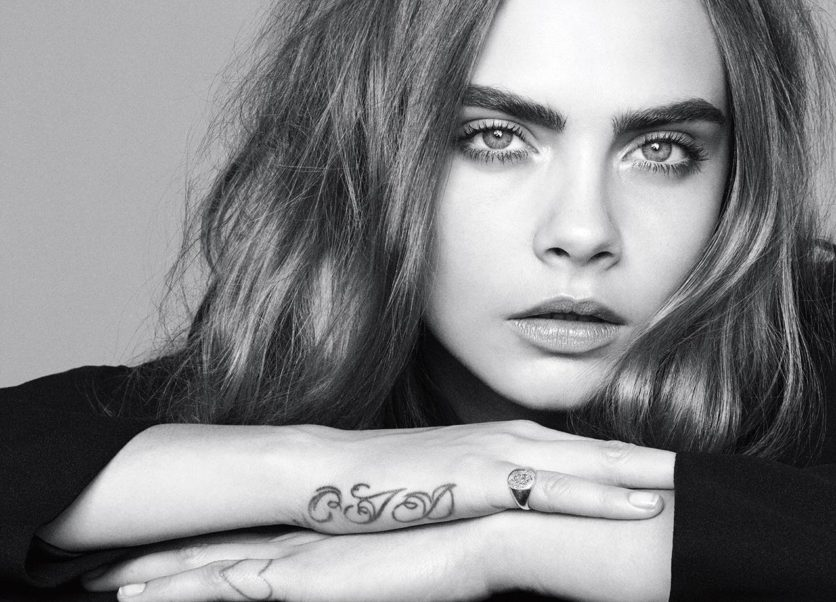 Cara Delevingne Cool Black & White Pictures