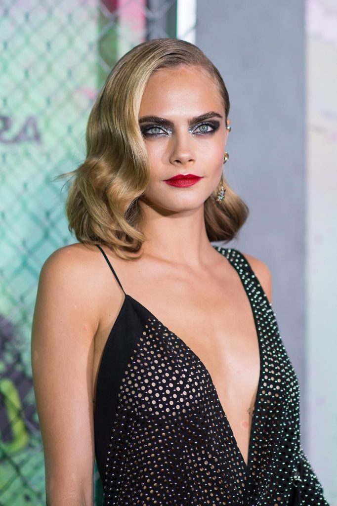 Cara Delevingne Deep Revealing Black Dress 682x1024 - Cara Delevingne Net Worth, Pics, Wallpapers, Career and Biography