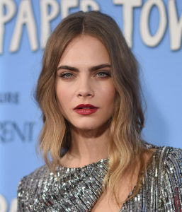 Cara Delevingne Hot Lips 257x300 - Hot Top Model Cara Delevingne