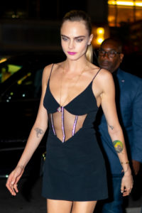 Cara Delevingne Hot Night Dress 200x300 - Cara Delevingne Handbag Modeling