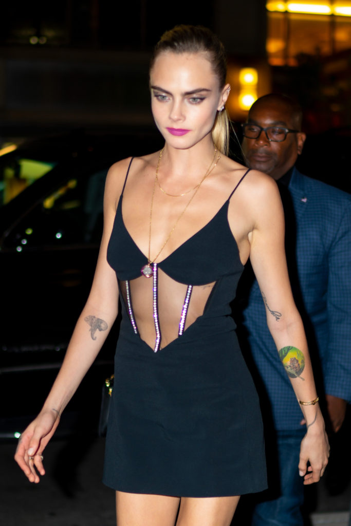 Cara Delevingne Hot Night Dress 683x1024 - Cara Delevingne Net Worth, Pics, Wallpapers, Career and Biography