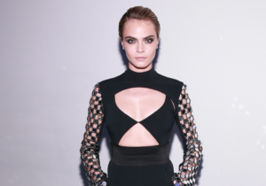 Cara Delevingne Super Hot Dress 300x210 - Hot Top Model Cara Delevingne