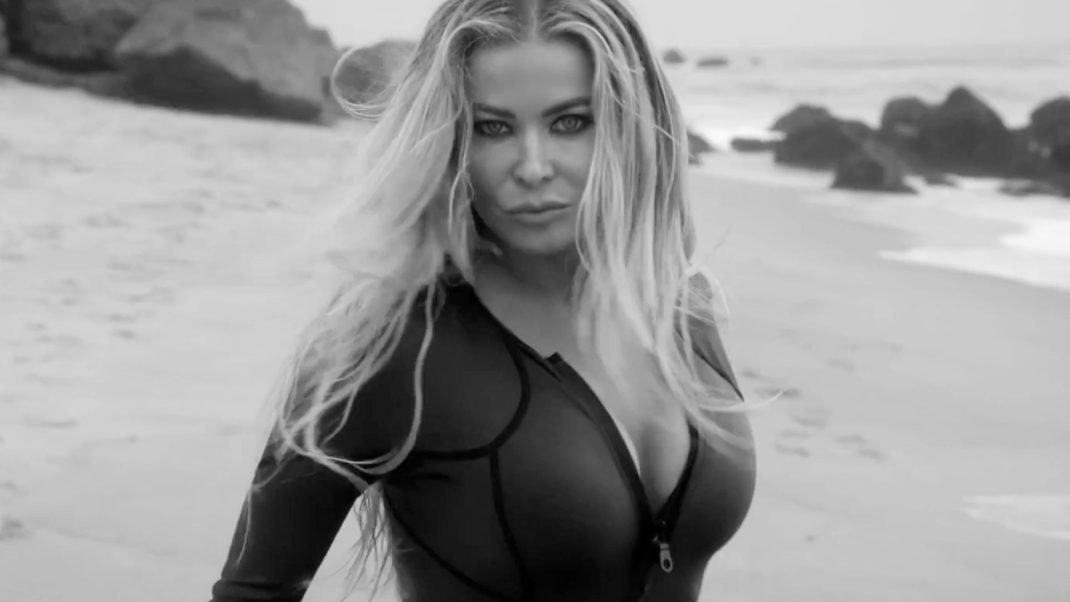 Carmen Electra Hot Pose By The Sea
