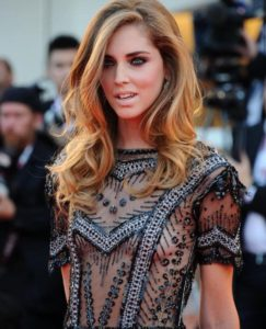 Chiara Ferragni Hot Gala Dress 243x300 - Chiara Ferragni Eyeglasses Pics