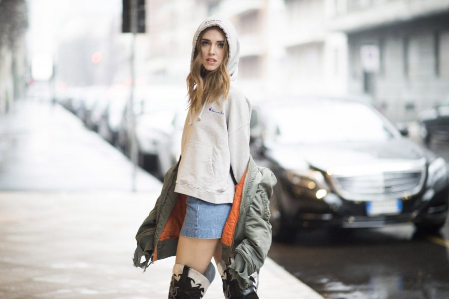 Chiara Ferragni Outdoors Pics