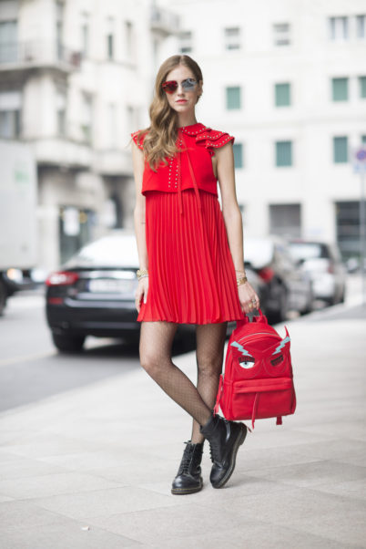 Chiara Ferragni Red Dress
