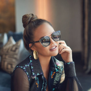 Chrissy Tiegen Sunglasses Pic 300x300 - Chrissy Tiegen Face Photo