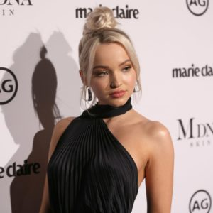 Dove Cameron Amazing Black Dress 300x300 - Dove Cameron Outdoors Pics