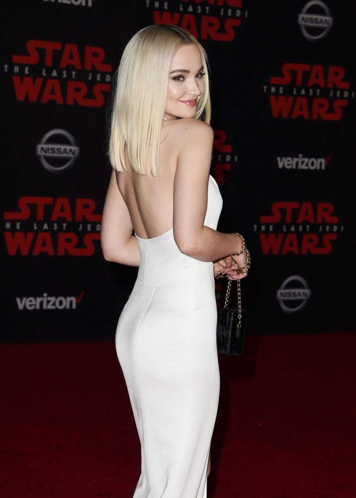 Dove Cameron Back Revealing Gala Dress 732x1024 - Dove Cameron Back Revealing Gala Dress