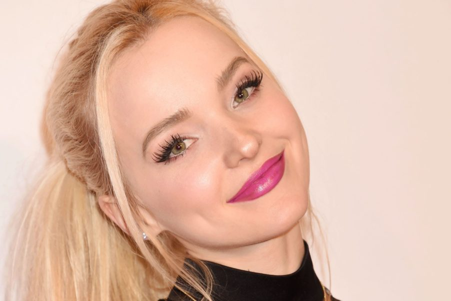 Dove Cameron Hot Pink Lips