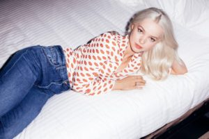 Dove Cameron Jeans Posing On The Bed 300x200 - Dove Cameron Sweet Actress Pics