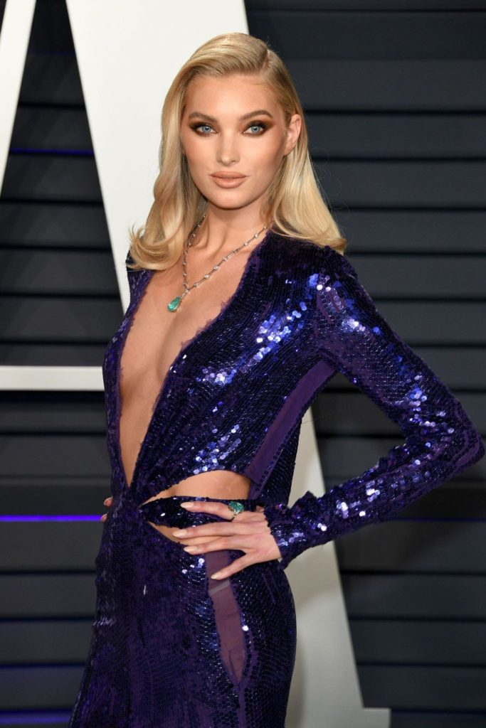 Elsa Hosk Deep Revealing Night Dress 683x1024 - Elsa Hosk Net Worth, Pics, Wallpapers, Career and Biography