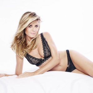 Heidi Klum Hot Bra Pose 300x300 - Heidi Klum Black & White Face Pics