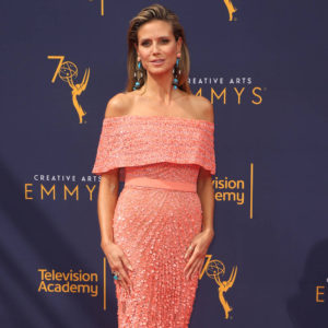 Heidi Klum Pink Gala Dress 300x300 - Heidi Klum Black & White Face Pics