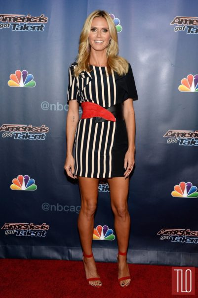 Heidi Klum Red Carpet Pics